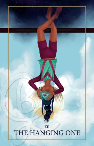 Hanging One Tarot Print